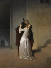 Francesco Hayez, Il bacio [1861]