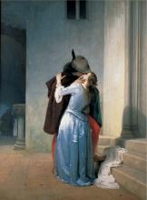 Francesco Hayez, Il bacio [1867]