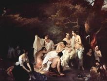 Francesco Hayez, Il bagno delle Ninfe