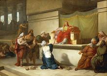 Francesco Hayez, Il giudizio di Salomone