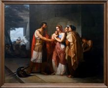 Francesco Hayez, L'addio di Ettore e Andromaca