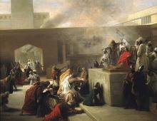 Francesco Hayez, L'incoronazione di Gioas