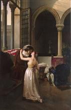 Francesco Hayez, L'ultimo addio di Giulietta a Romeo
