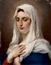Francesco Hayez, La Vergine [1871]