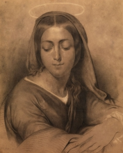 Francesco Hayez, La Vergine