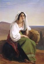 Francesco Hayez, La ciociara [1842]