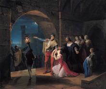 Francesco Hayez, La congiura dei Fieschi