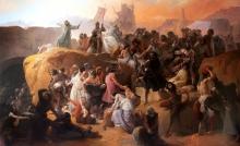 Francesco Hayez, La sete patita dei primi crociati sotto Gerusalemme