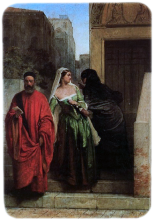 Francesco Hayez, La vendetta di una rivale (Le veneziane)