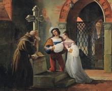 Francesco Hayez, Le nozze di Romeo e Giulietta