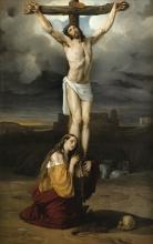 Francesco Hayez, Maddalena penitente ai piedi della croce