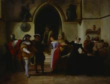 Francesco Hayez, Maria Stuarda nell'atto che gli viene annunziata la sentenza di morte