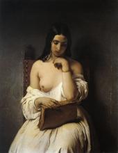 Francesco Hayez, Meditazione [1850]