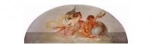 Francesco Hayez, Nereide e Tritone con delfino, 1819, cm. 97 x 251