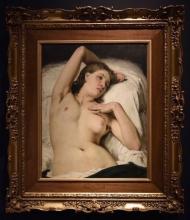 Francesco Hayez, Nudo di donna (Modella in riposo)