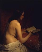 Francesco Hayez, Odalisca che legge