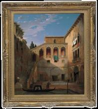 Francesco Hayez, Palazzo veneziano
