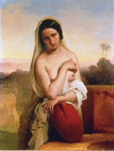 Francesco Hayez, Rebecca al pozzo [1831]