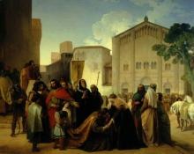 Francesco Hayez, Riconciliazione di Ottone II con Adelaide di Borgogna sua madre