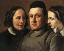 Francesco Hayez, Ritratti (Tre teste)