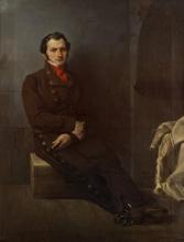 Francesco Hayez, Ritratto del conte Arese in carcere