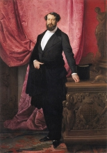 Francesco Hayez, Ritratto del principe Emilio Barbiano Belgiojoso d'Este