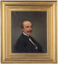 Francesco Hayez, Ritratto dell'ingegner Giuseppe Clerici