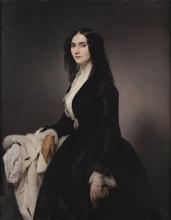 Francesco Hayez, Ritratto della cantante Matilde Juva Branca
