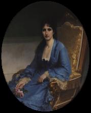 Francesco Hayez, Ritratto della contessa Antonietta Negroni Prati Morosini