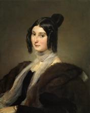 Francesco Hayez, Ritratto della contessa Clara Maffei