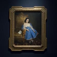 Francesco Hayez, Ritratto della contessina Luigia Negroni Prati Morosini