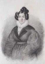 Francesco Hayez, Ritratto della moglie Vincenza Scaccia [1825-30]