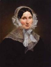 Francesco Hayez, Ritratto della moglie dell'artista Vincenza Scaccia
