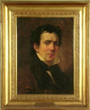 Francesco Hayez, Ritratto dello scultore Pompeo Marchesi