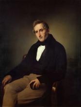 Francesco Hayez, Ritratto di Alessandro Manzoni