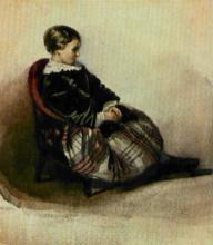 Francesco Hayez, Ritratto di Anna del Majno