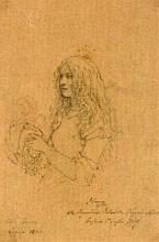 Francesco Hayez, Ritratto di Antonietta Negroni Casati Bassano
