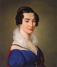 Francesco Hayez, Ritratto di Antonietta Vitali Sola