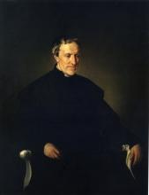 Francesco Hayez, Ritratto di Antonio Rosmini