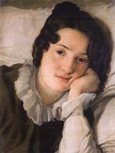Francesco Hayez, Ritratto di Carolina Zucchi [1822]