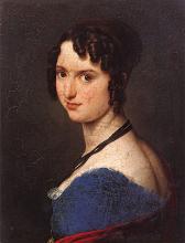 Francesco Hayez, Ritratto di Carolina Zucchi