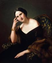 Francesco Hayez, Ritratto di Caterina Bonvicini Cardinale