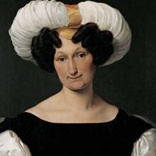 Francesco Hayez, Ritratto di Donna Francesca Majnoni d'Intignano dell'Acquafredda [dettaglio]
