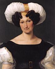 Francesco Hayez, Ritratto di Donna Francesca Majnoni d'Intignano dell'Acquafredda