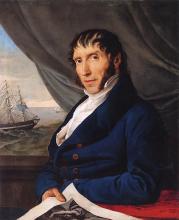 Francesco Hayez, Ritratto di Francesco Peloso