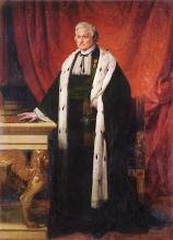 Francesco Hayez, Ritratto di Francesco Taverna in costume di presidente