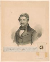 Francesco Hayez, Ritratto di Gaetano Donizetti
