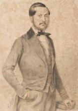 Francesco Hayez, Ritratto di Giacomo Maria Lorenzo Chiera di Vasco (Torino 1784-Mondovi 1842)