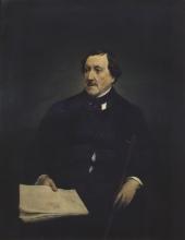 Francesco Hayez, Ritratto di Gioacchino Rossini