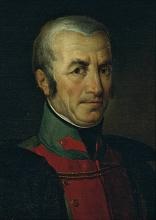 Francesco Hayez, Ritratto di Giovanni Battista Birago [dettaglio]